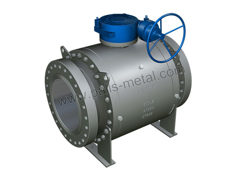 Forged-Steel-Trunnion-mounted-Ball-Valve