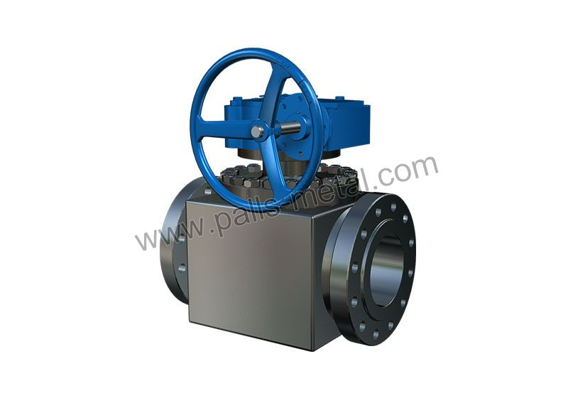 Top-entry-Trunnion-mounted-Ball-Valve