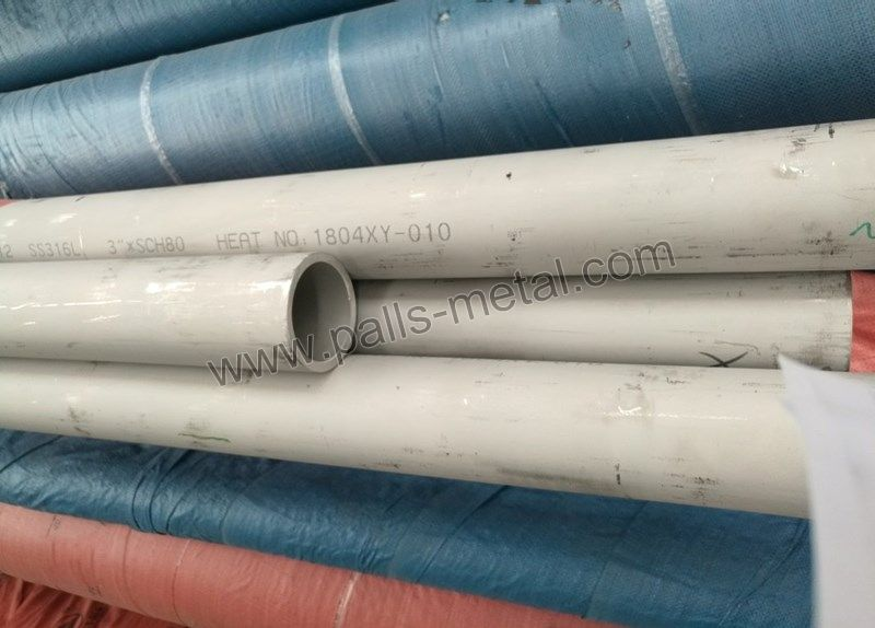 Seamless Super Austenitic Stainless Steel Pipe