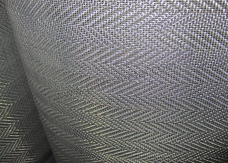 Twilled Weave Wire Mesh